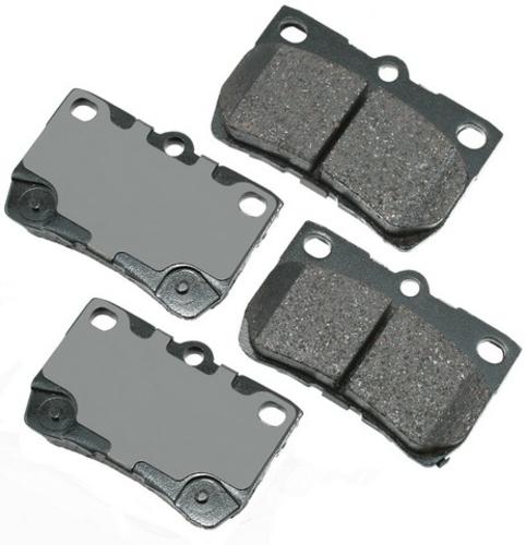 AKEBONO - ProACT Ultra Premium Ceramic Pads (Rear) - AKB ACT1113