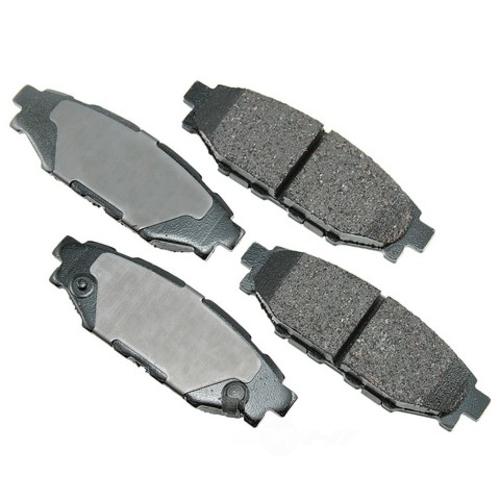 AKEBONO - ProACT Ultra Premium Ceramic Pads (Rear) - AKB ACT1114