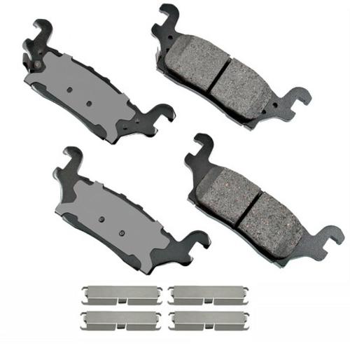 AKEBONO - ProACT Ultra Premium Ceramic Pads (Rear) - AKB ACT1120