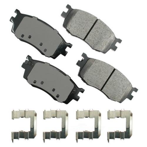 AKEBONO - ProACT Ultra Premium Ceramic Pads (Front) - AKB ACT1156