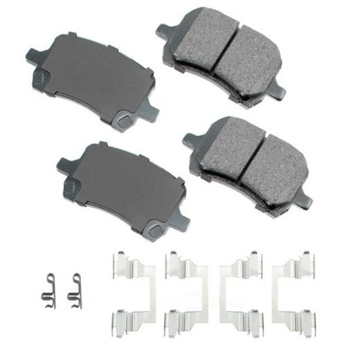 AKEBONO - Disc Brake Pad Set - Part Number: ACT1160