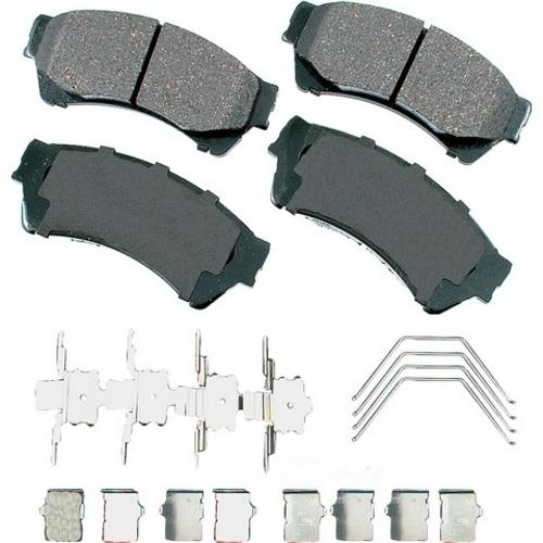 AKEBONO - ProACT Ultra Premium Ceramic Pads (Front) - AKB ACT1164