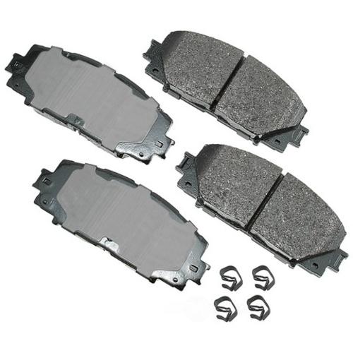 AKEBONO - ProACT Ultra Premium Ceramic Pads (Front) - AKB ACT1184