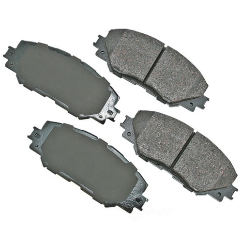 AKEBONO - ProACT Ultra Premium Ceramic Pads (Front) - AKB ACT1210