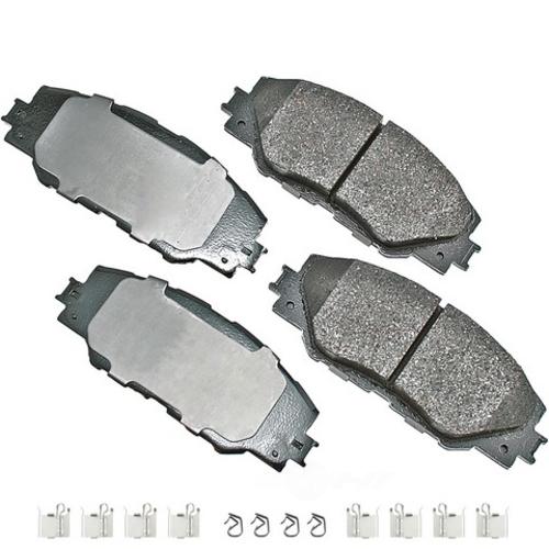 AKEBONO - ProACT Ultra Premium Ceramic Pads - AKB ACT1211A