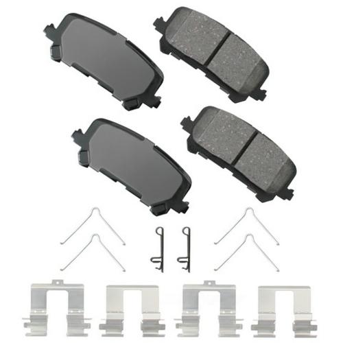 AKEBONO - ProACT Ultra Premium Ceramic Pads (Rear) - AKB ACT1281
