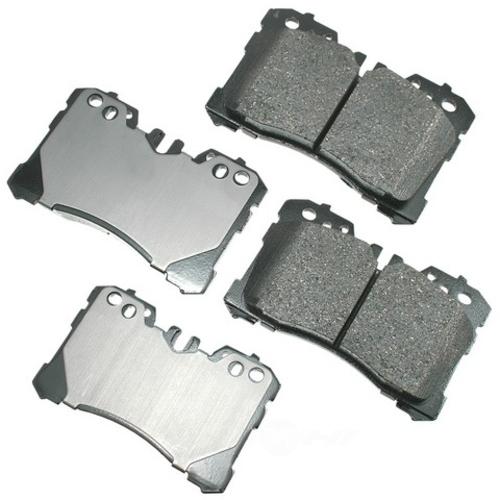 AKEBONO - ProACT Ultra Premium Ceramic Pads - AKB ACT1282