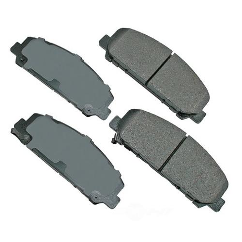 AKEBONO - ProACT Ultra Premium Ceramic Pads - AKB ACT1286