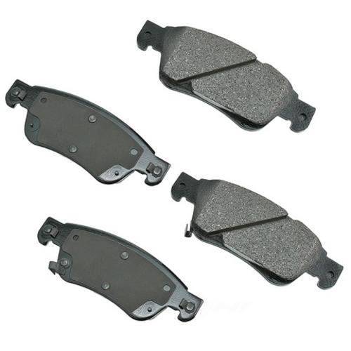 AKEBONO - ProACT Ultra Premium Ceramic Pads (Front) - AKB ACT1287