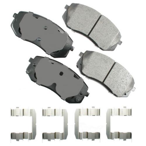 AKEBONO - ProACT Ultra Premium Ceramic Pads - AKB ACT1295