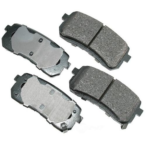 AKEBONO - ProACT Ultra Premium Ceramic Pads (Rear) - AKB ACT1302