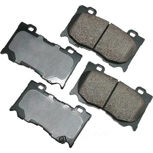 AKEBONO - ProACT Ultra Premium Ceramic Pads (Front) - AKB ACT1346