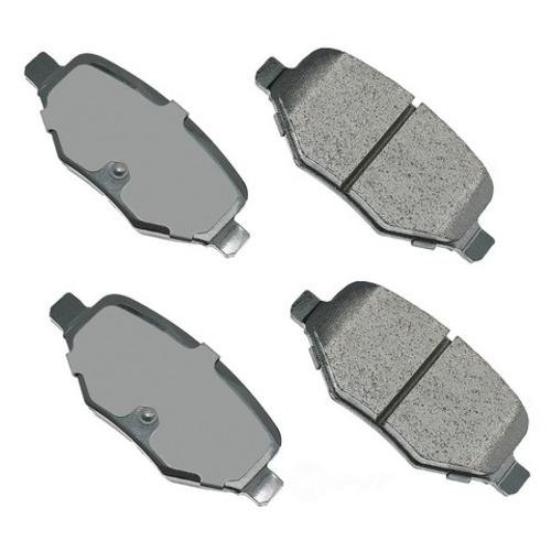 AKEBONO - ProACT Ultra Premium Ceramic Pads (Rear) - AKB ACT1377