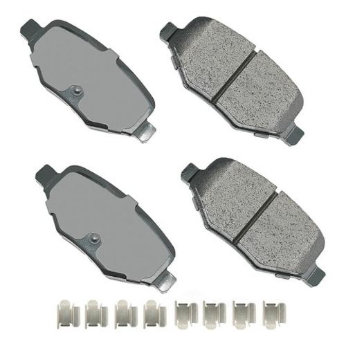 AKEBONO - ProACT Ultra Premium Ceramic Pads (Rear) - AKB ACT1377A