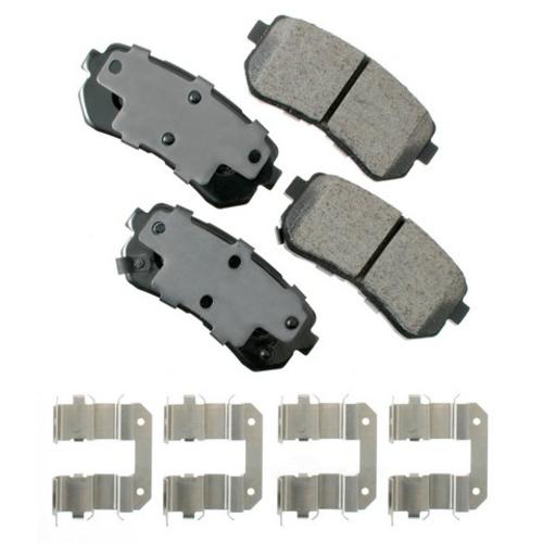 AKEBONO - ProACT Ultra Premium Ceramic Pads (Rear) - AKB ACT1398