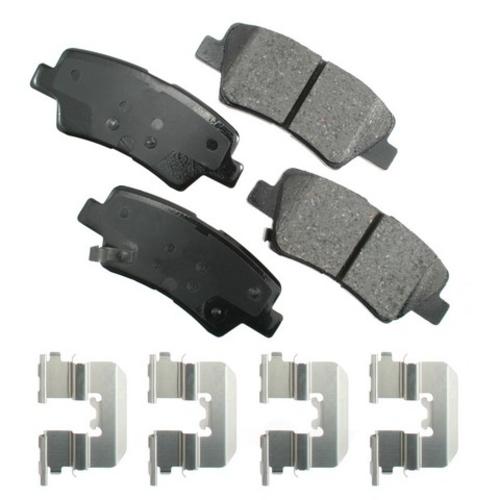 AKEBONO - ProACT Ultra Premium Ceramic Pads (Rear) - AKB ACT1445