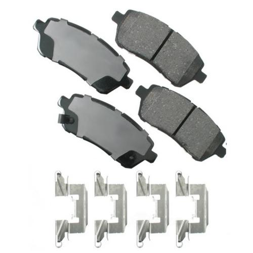 AKEBONO - ProACT Ultra Premium Ceramic Pads (Front) - AKB ACT1454