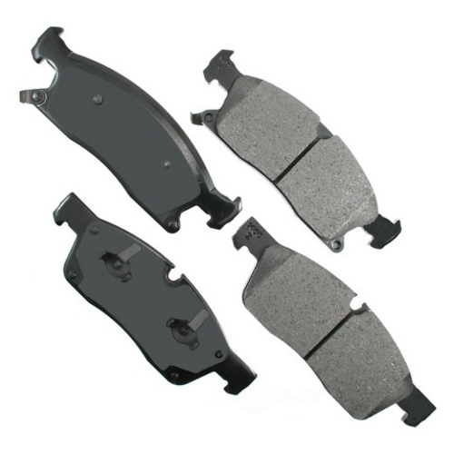 AKEBONO - ProACT Ultra Premium Ceramic Pads (Front) - AKB ACT1455
