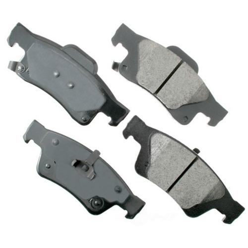 AKEBONO - ProACT Ultra Premium Ceramic Pads (Rear) - AKB ACT1498