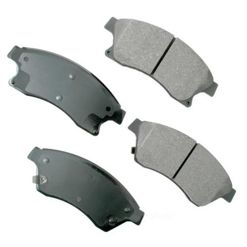 AKEBONO - ProACT Ultra Premium Ceramic Pads (Front) - AKB ACT1522