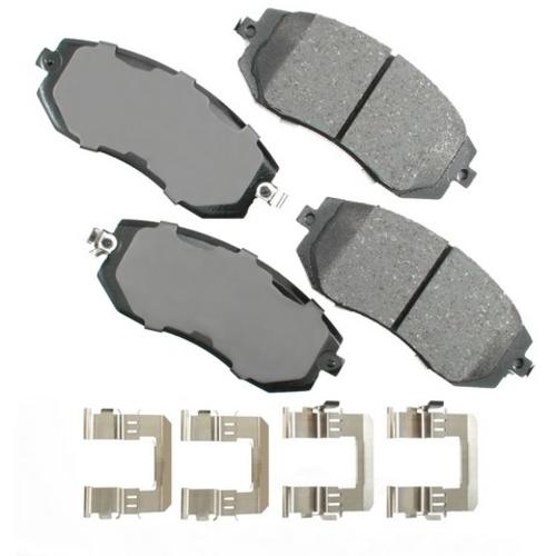 AKEBONO - ProACT Ultra Premium Ceramic Pads (Front) - AKB ACT1539