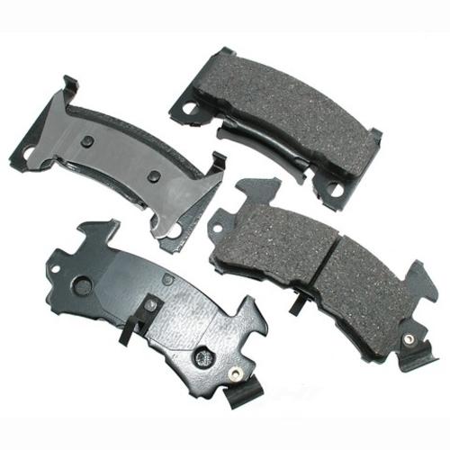 AKEBONO - ProACT Ultra Premium Ceramic Pads (Front) - AKB ACT154
