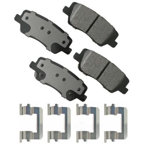 AKEBONO - ProACT Ultra Premium Ceramic Pads (Rear) - AKB ACT1659