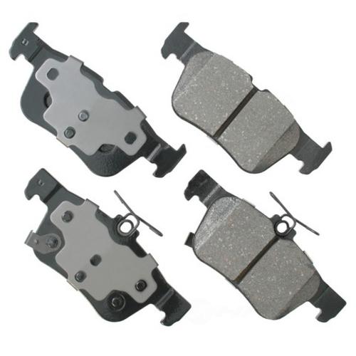 AKEBONO - ProACT Ultra Premium Ceramic Pads (Rear) - AKB ACT1665