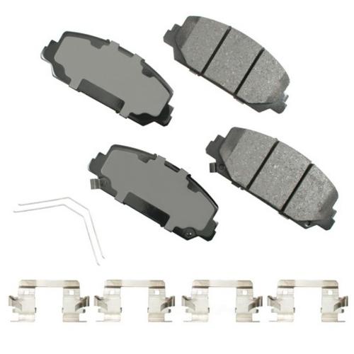 AKEBONO - ProACT Ultra Premium Ceramic Pads (Front) - AKB ACT1697