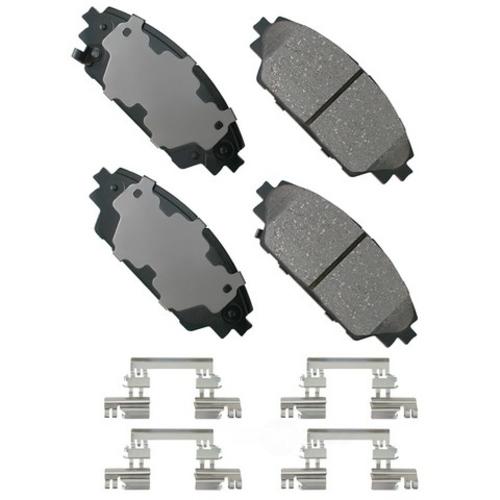 AKEBONO - ProACT Ultra Premium Ceramic Pads (Front) - AKB ACT1728
