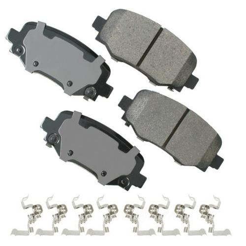 AKEBONO - ProACT Ultra Premium Ceramic Pads (Rear) - AKB ACT1734