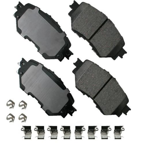 AKEBONO - ProACT Ultra Premium Ceramic Pads (Front) - AKB ACT1759