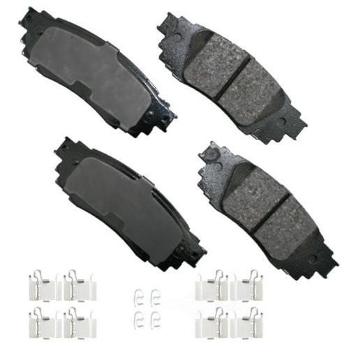 AKEBONO - ProACT Ultra Premium Ceramic Pads (Rear) - AKB ACT1879