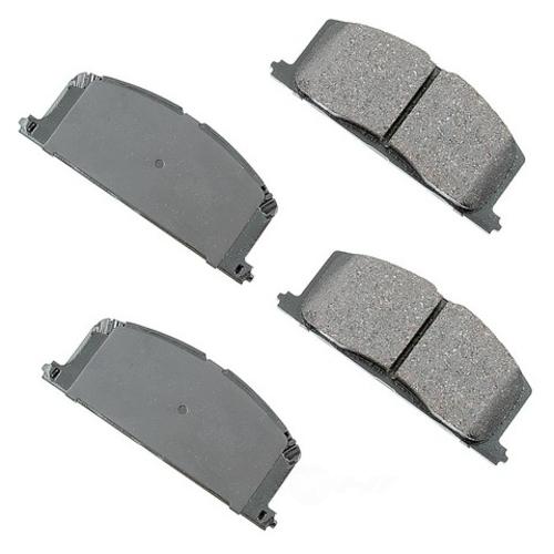 AKEBONO - ProACT Ultra Premium Ceramic Pads (Front) - AKB ACT242