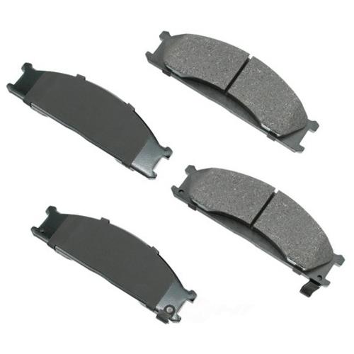 AKEBONO - ProACT Ultra Premium Ceramic Pads (Front) - AKB ACT333