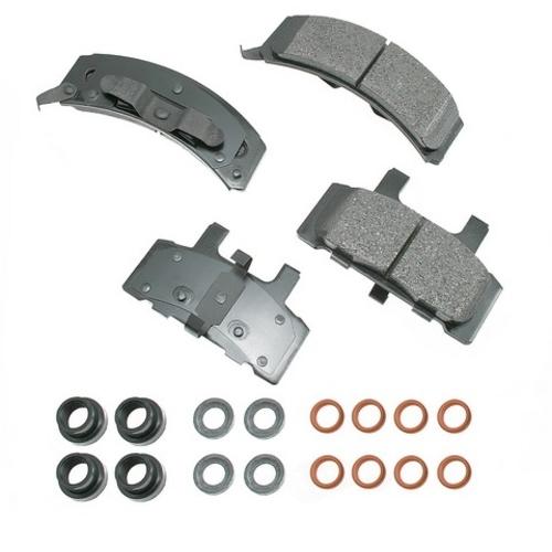AKEBONO - ProACT Ultra Premium Ceramic Pads (Front) - AKB ACT369