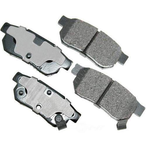 AKEBONO - ProACT Ultra Premium Ceramic Pads (Rear) - AKB ACT374