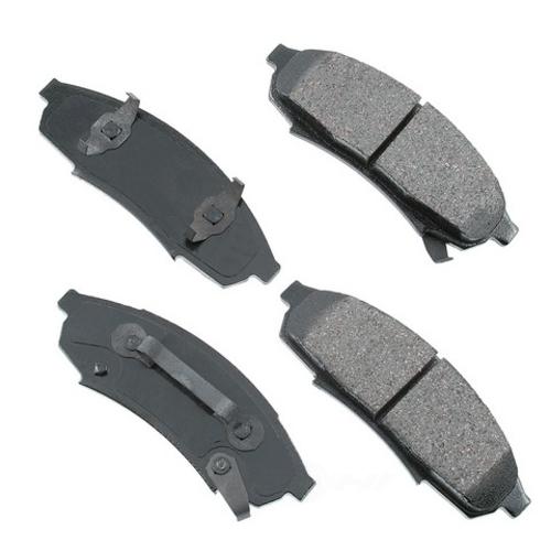 AKEBONO - ProACT Ultra Premium Ceramic Pads (Front) - AKB ACT376