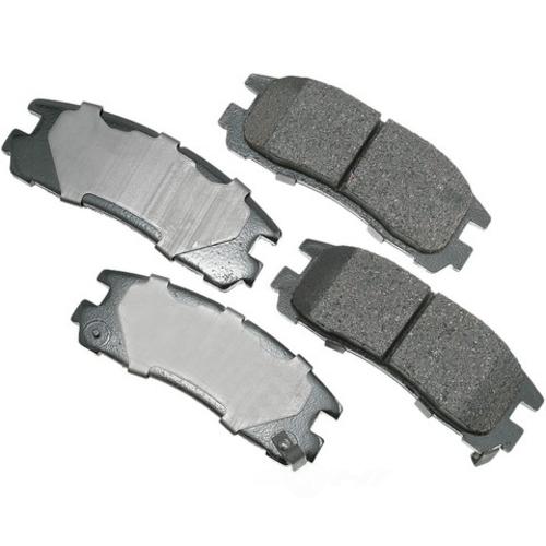 AKEBONO - ProACT Ultra Premium Ceramic Pads (Rear) - AKB ACT383