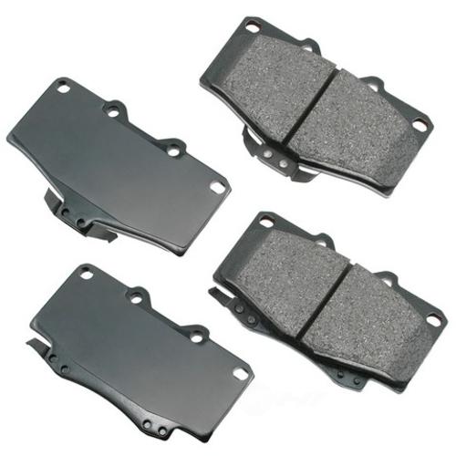 AKEBONO - ProACT Ultra Premium Ceramic Pads (Front) - AKB ACT436