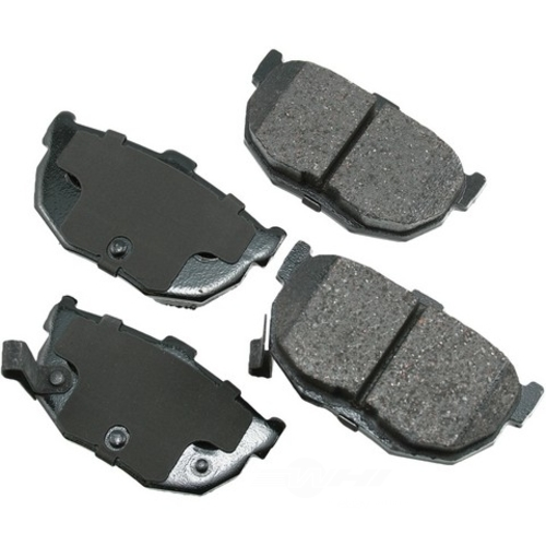 AKEBONO - ProACT Ultra Premium Ceramic Pads (Rear) - AKB ACT464