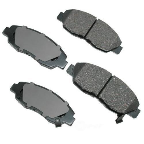 AKEBONO - ProACT Ultra Premium Ceramic Pads (Front) - AKB ACT465A