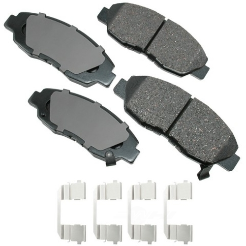 AKEBONO - ProACT Ultra Premium Ceramic Pads (Front) - AKB ACT465C