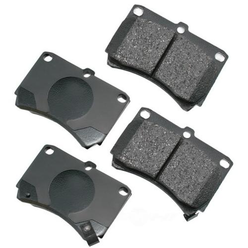 AKEBONO - ProACT Ultra Premium Ceramic Pads (Front) - AKB ACT466