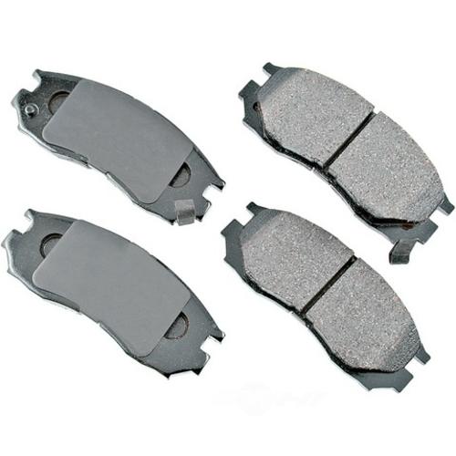 AKEBONO - ProACT Ultra Premium Ceramic Pads (Front) - AKB ACT484