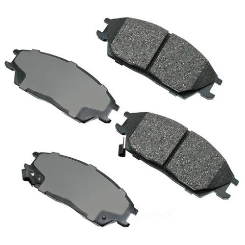 AKEBONO - ProACT Ultra Premium Ceramic Pads (Front) - AKB ACT497