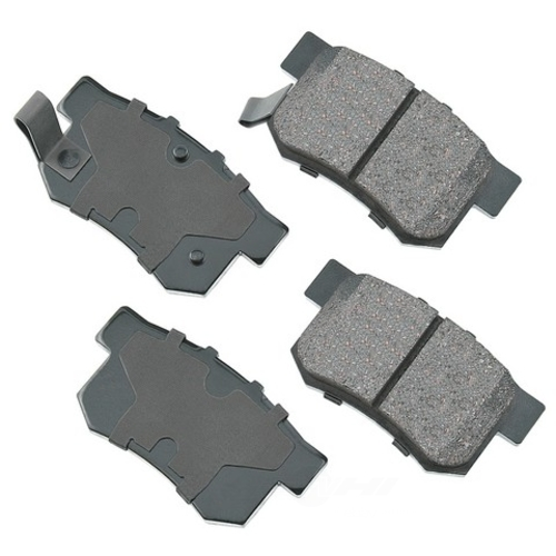 AKEBONO - ProACT Ultra Premium Ceramic Pads - AKB ACT537