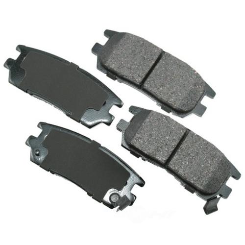 AKEBONO - ProACT Ultra Premium Ceramic Pads (Rear) - AKB ACT567