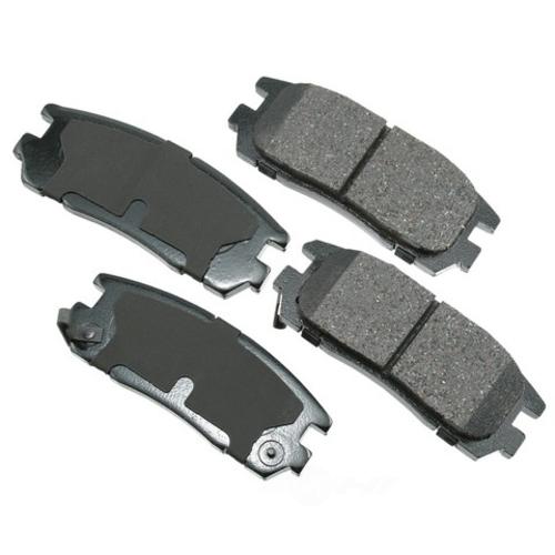AKEBONO - ProACT Ultra Premium Ceramic Pads (Rear) - AKB ACT580