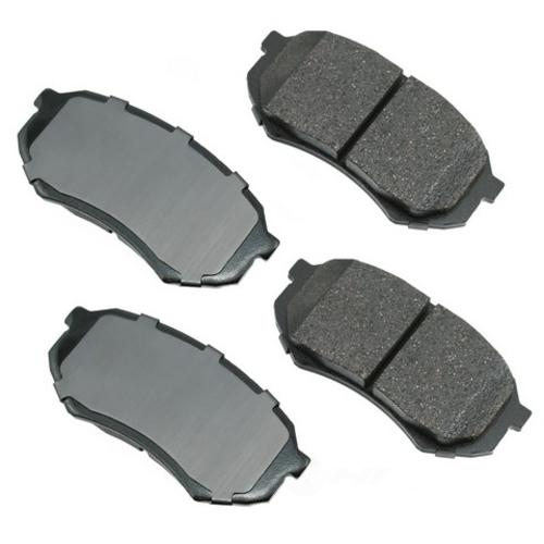 AKEBONO - ProACT Ultra Premium Ceramic Pads (Front) - AKB ACT589